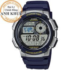 Đồng hồ nam dây nhựa Casio Anh Khuê AE-1000W-2AVDF