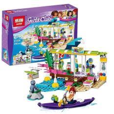 Lego xếp hình Girls Club- Cửa hàng bán đồ thể thao trên biển – 200 chi tiết