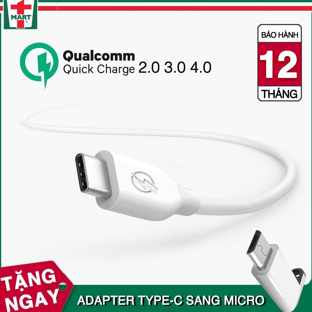 So sánh giá Dây sạc USB Type C hỗ trợ sạc nhanh Qualcomm Quick Charge cho Samsung Galaxy Note 8/ S8/ S8 Plus 9/ 9 Plus và các máy có cổng Type-C – Hàng Bagi Việt Nam Tại T-Mart.vn