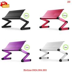 Bàn laptop Huy Tuấn BN Omax A6 (Trắng)