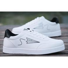 Giày nam trắng thể thao sneaker- khuyến mãi 50% chào mừng Quốc Khánh