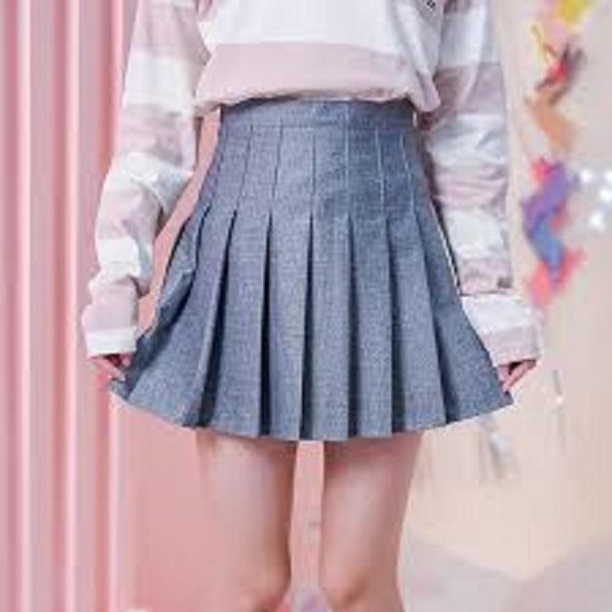 Chân Váy Ngắn Xếp Ly Lưng Cao Thời Trang Hàn Quốc 2017