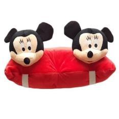 Gối đi xe máy 2 đầu hình Chuột Mickey