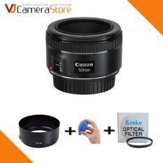 Ống kính Canon 50mm F1.8 STM (Đen) – Hàng nhập khẩu + Tặng 1 lens Hood ES-68, 1 Filter 49mm và 1 bóng thổi bụ