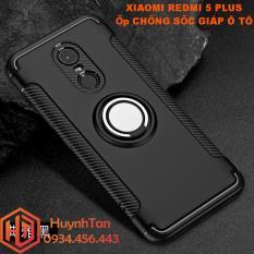 Ốp lưng Xiaomi Redmi 5 Plus_Ốp lưng chống sốc giáp ô tô cho Redmi 5 Plus (Đen)