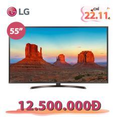 Nên mua Smart TV UHD LG 55inch 4K Ultra HD – Model 55UK6340PTF (Đen) – Hãng phân phối chính thức ở LG
