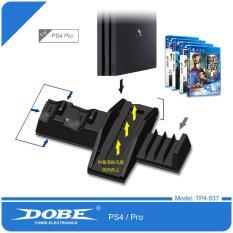 Đế tản nhiệt kiêm dock sạc cho Playstation 4/ PS4 Pro Dobe TP4-837