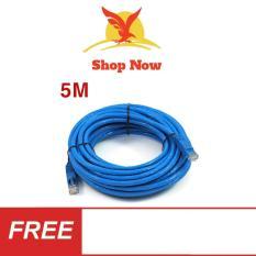 Dây Cáp mạng internet/ LAN S-N 2 đầu đúc sẵn 5M loại tốt