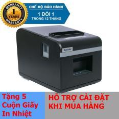 Máy in hóa đơn Xprinter N160II giấy 80mm (CỔNG KẾT NỐI LAN) – Hàng Nhập Khẩu