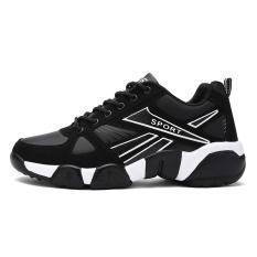 Giày nam thể thao siêu nhẹ GN641 đen