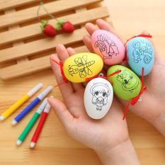 Quả trứng tô màu cho bé + Bút màu – Giao ngẫu nhiên