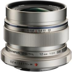 Ống kính Olympus M.Zuiko ED 12mm F2.0 (Bạc)