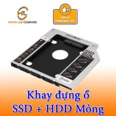 Caddy Bay SATA 3.0 Mỏng 9.5mm Gắn Thêm Ổ Cứng Cho Laptop