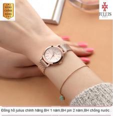 ĐỒNG HỒ NỮ JULIUS JA-732D JU970 HÀN QUỐC DÂY THÉP (VÀNG) – Đồng hồ nữ cao cấp MJU970 – Đồng hồ nữ giá rẻ PJ70LPU – Đồng hồ nữ dây kim loại