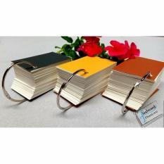 200 Bìa cứng Flashcard trắng học tiếng Anh – Giấy ghi chú – Giấy vuông góc.