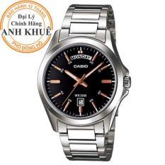 Đồng hồ nam dây kim loại Casio Anh Khuê MTP-1370D-1A2VDF