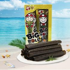 Snack rong biển Big Roll vị mực 3.6gr x 6 gói