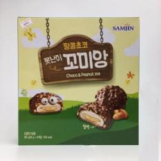 Bánh dẻo Socola đậu phộng SAMJIN Hàn Quốc 360g