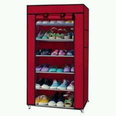 Tủ vải Vegabuy đựng giày dép 7 tầng 6 ngăn