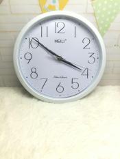 Đồng hồ treo tường tròn kim trôi MEILI (loại nhỏ-25cm)