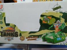 Đồ chơi xe tăng, xe tăng dùng pin phát nhạc, đồ chơi xe tăng biến hình thành người máy, do choi xe tang