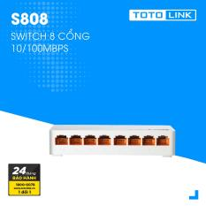 Switch 8 cổng 10/100Mpbs – S808 – TOTOLINK