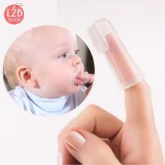 Tưa lưỡi, đánh răng silicon cho bé siêu an toàn (CB12)