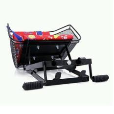 Ghế ngồi xe máy số có dựa sắt (thưa) cho bé