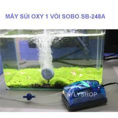 Máy oxy mini SB-248A ( 3W – 3.5L/PHÚT) cung cấp oxy cho hồ thúy sinh. BH uy tín, 1 đổi 1