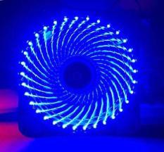 Quạt tản nhiệt case 120mm 15 Led siêu sáng, có ốc kèm theo