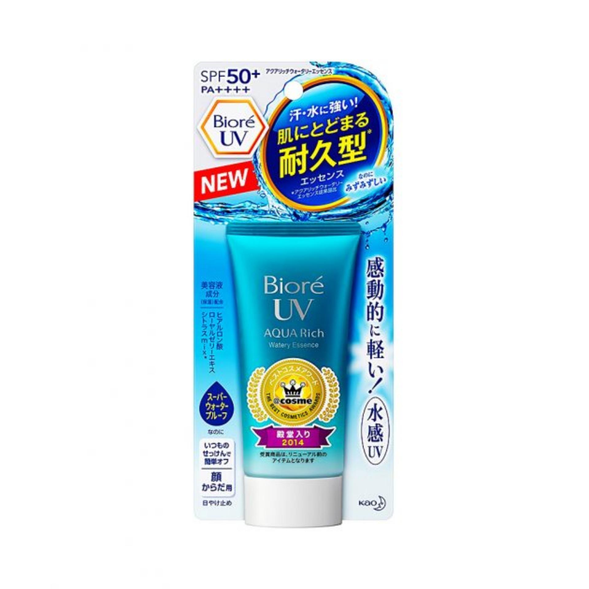 Chống nắng Biore UV Aqua Rich SPF 50+ PA++++ Watery Essence 50g