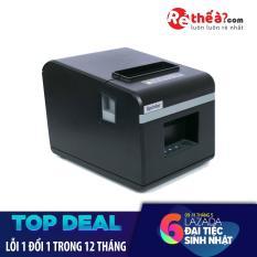 Máy in hóa đơn XPRINTER N160II KHỔ GIẤY 80mm (CỔNG KẾT NỐI LAN) Hàng Nhập Khẩu + Tặng kèm 5 cuộn giấy in nhiệt khổ 80mm