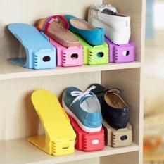 Bộ 5 kệ để giày tiết kiệm diện tích thông minh (Màu ngẫu nhiên)