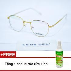 Gọng kính siêu mỏng LENS Deli + Tặng 1 chai nước rửa kính Glassone