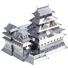 Mô hình lắp ghép kim loại 3D Metal Works Lâu đài Himeji (Bạc)
