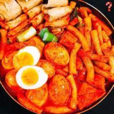 Combo Tok nấu chả cá Hàn Quốc siêu ngon bánh gạo Hàn Quốc ngon( CHỈ GIAO TẠI SÀI GÒN)