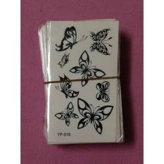 hình xăm dán bướm album hoa bướm size 10x6cm