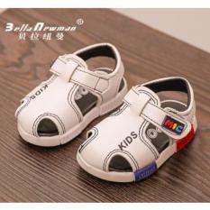 Dép sandal mic bé trai 0-4 tuổi (trắng)