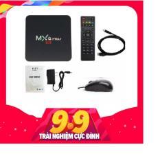 Tivi Box MXQ-4K Pro Với Android 7.1.2 Siêu Mạnh SIêu Nhanh Phiên Bản 3/2018 (Khuyến Mại Chuột MITSUMI)