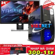 Máy tính để bàn Intel core i7 2600 Ram 16GB Hdd 1TB + LCD Dell 24 inch Wide Led