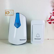 Chuông cửa không dây, nút nhấn không pin cao cấp (nút nhấn kín nước IP44) Kawasan KW DB817