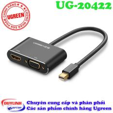 Cáp Thunderbolt to HDMI + VGA | Dây Mini Displayport to HDMI + VGA UGreen