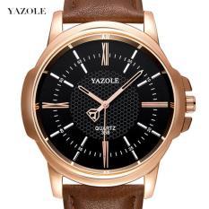 Đồng hồ nam dây da thời trang cao cấp Yazole N03(Có bảo hành)