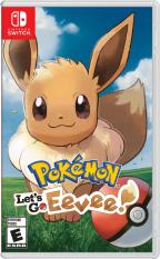 Đĩa Game Nintendo Switch – Pokemon Let's Go Eevee!