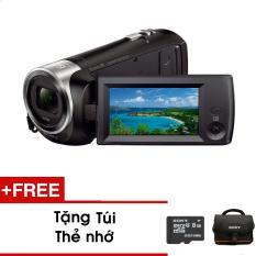 Máy quay Sony Handycam CX405 – Màu đen – Tặng thẻ nhớ + túi – Hàng phân phối chính hãng
