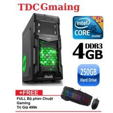 Máy tính game TDCGaming intel core i5 2400/ Ram 4gb/ Hdd 250gb – Tặng phím chuột giả cơ chuyên game – Bảo hành 24 tháng 1 đôi 1.