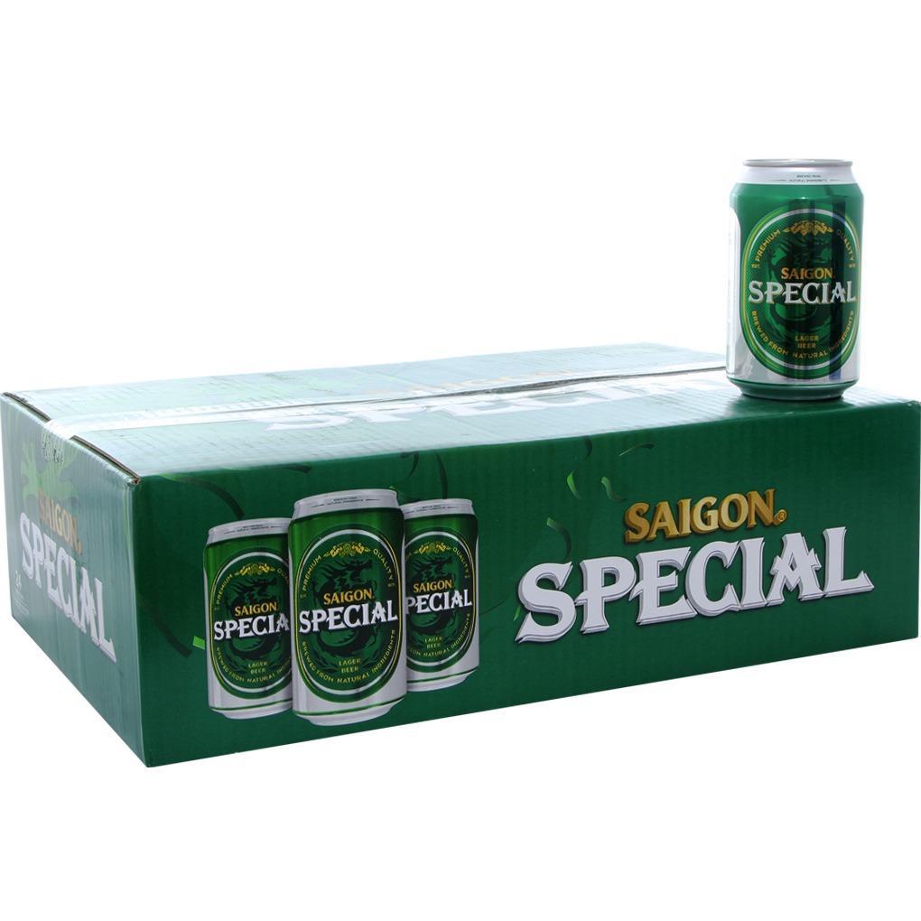 Nơi Bán Bia Sài Gòn Special thùng 24 lon x 330ml