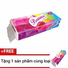 Mua 1 giấy vệ sinh Bozana 3 lớp x 10 cuộn có lõi tặng 1 sản phẩm cùng loại