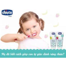 Kem đánh răng hương Dâu Chicco 12M+