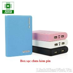 Box sạc dự phòng 18650 loại 4 cell pin (KHÔNG KÈM PIN)